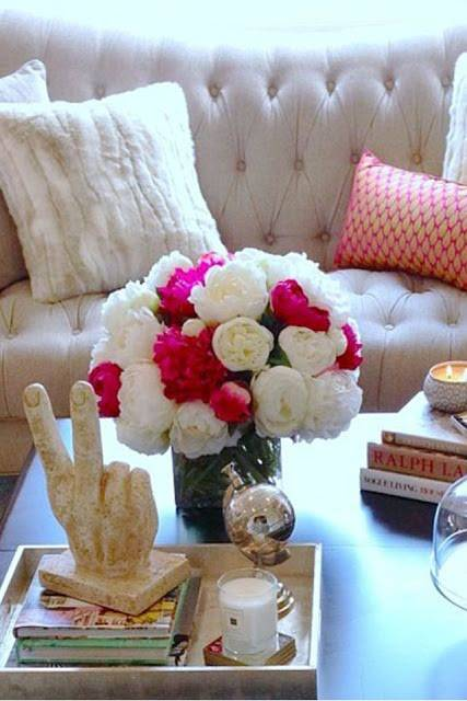 أفكار لتزيين المنزل بأجمل الورود, تزيين المنزل بالورود, ديكورات المنزل,