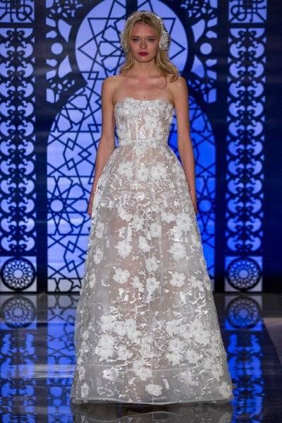 فساتين زفاف 2016 : مجموعة رائعة من أحدث تصاميم فساتين الزفاف مكشوفة الأكتاف