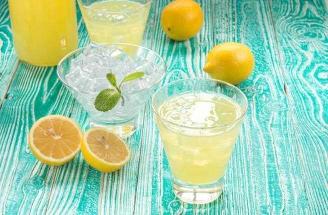 وصفة عصير الليمون بالنعناع المثلج