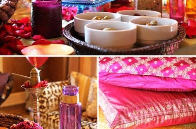 ألوان زاهية وأكواب شاي ملونة