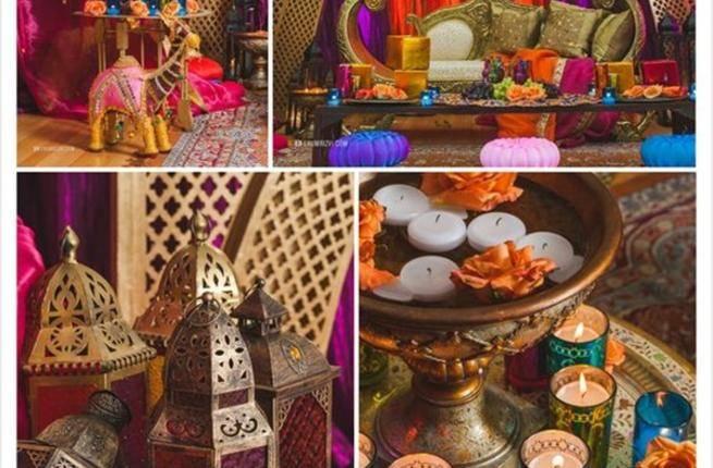 افكار ديكور لسفرة رمضانية بلمسة مغربية