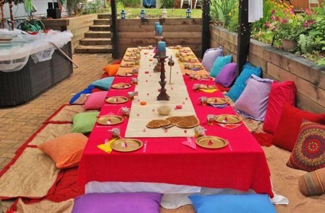 سفرة رمضانية بسيطة وانيقة لضيوفك