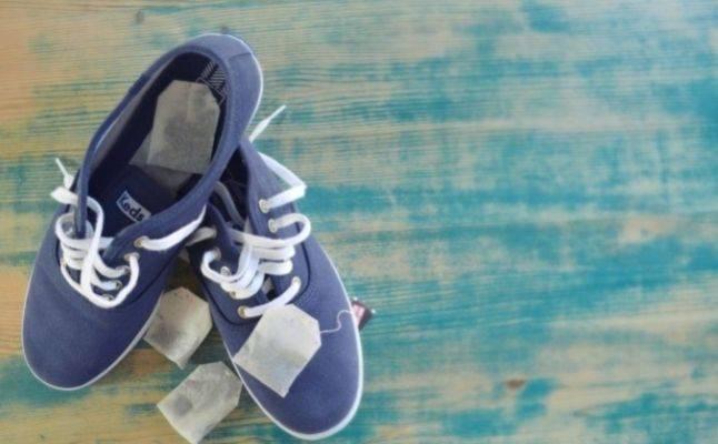 إزالة الروائح من الأحذية