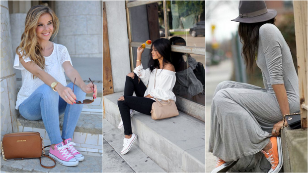 Header image different ways to wear converse main image fustany ar