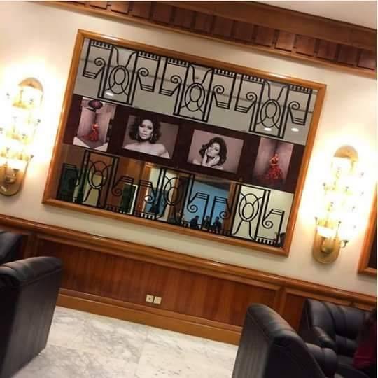 صورة من كواليس برنامج شيرين عبد الوهاب