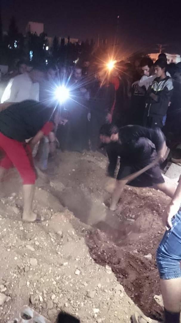 فتح قبر امرأة بعد سماع أصوات داخله في الأردن