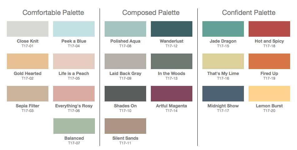 موضة ألوان حوائط وديكور 2017