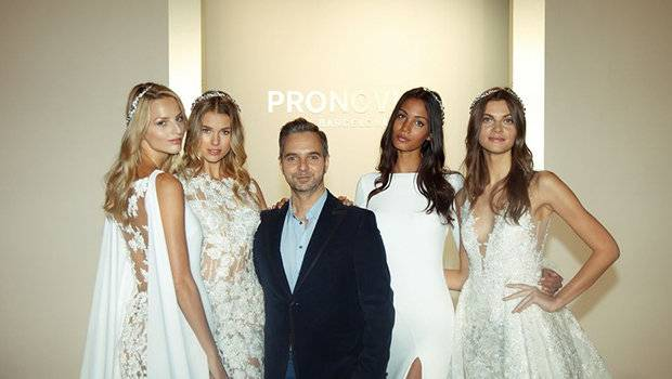 Header image article main fustany atelier pronovias 2017 collection nfw ar
