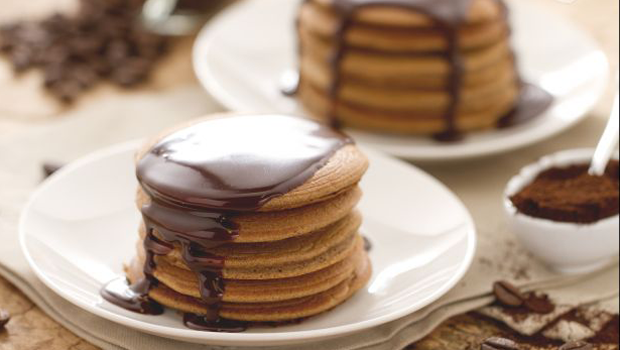 Header image pancakes with chocolate sauce recipe ar main image fustany