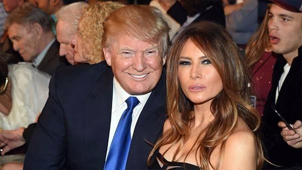 زوجة دونالد ترامب