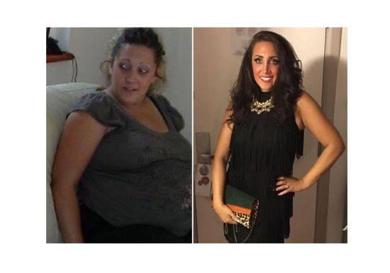 بالصور: خسرت نصف وزنها وتحولت الى مليونيرة بفضل ذلك!