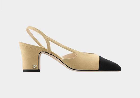 حذاء شانيل Chanel الكلاسيكي أي The Classic Slingback Shoe
