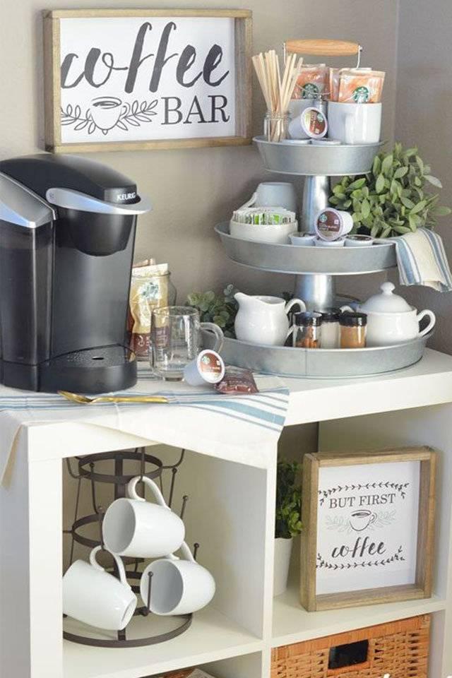 لعشاق القهوة: أفكارمميزة لتصميم ركن للقهوة في منزلك ...
