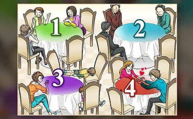 تحليل الشخصية من خلال الطاولة التي لا ترغبين بالجلوس إليها