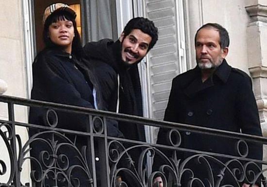 ريهانا وحبيبها السعودي في باريس