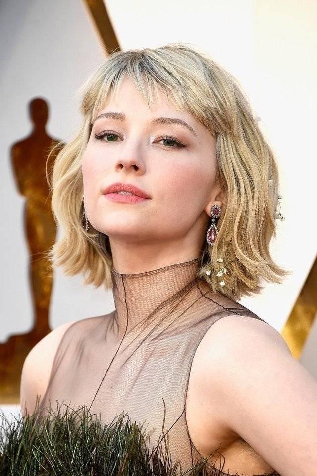 85a76c9e4 شاهدوا في الصور التالية أجمل تسريحات شعر ومكياج نجمات هوليوود في حفل توزيع جوائز  الأوسكار 2018.